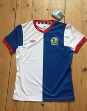 Vintage Retro Blackburn Rovers Football Top Shirt New Bnwt Age 10/11