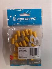 CABAC FS5.5-6DG Crimp Fork Terminals **BRAND NEW** 25 qty BULK PACK!!!!