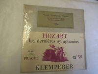 LP 33 T Mozart Les dernières Symphonies 38 Klemperer numéro 38 Prague Columbia