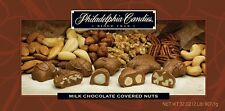 Philadelphia Candies Milk Chocolate Covered Assorted Nuts, 2 Pound Gift Box