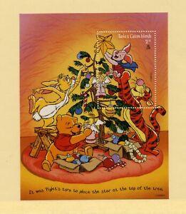 TURKS & CAICOS   MNH  1222   Disney Christmas S/S     AA916