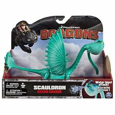 DREAMWORKS DRAGONS DEFENDERS OF BERK HOW TO TRAIN YOUR DRAGON SCAULDRON FIGURE
