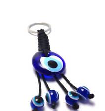 Evil eye Greek glass keychain