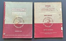 Delco-Remy Electrical Equipment DR-324(1958) / Test Specifications DR-324S(1955)