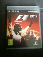 FORMULA 1 2011 F1 Sony Playstation 3 Game PS3