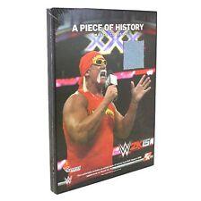 SEALED NEW WWE 2K15 Hulkamania Authentic Ring Canvas Hulk Hogan Collector Plaque