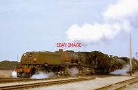 PHOTO  SOUTH AFRICAN RAILWAYS - GEA 4-8-2 + 2-8-4 CLASS GARRATT AT SYDENHAM 1972