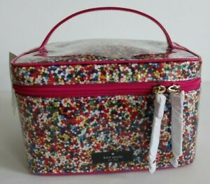 NWT Kate Spade small natalie sprinkles cosmetic makeup bag