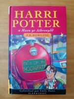 1ST EDITION HARRY POTTER AND THE PHILOSOPHER'S STONE WELSH 2ND PRINT J K ROWLING