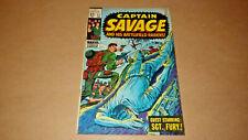 Captain Savage And His Battlefield Raiders 11 Marvel Comics Feb 1969 FN/VF 7.0