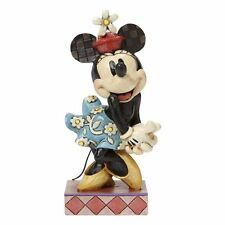 Disney Traditions Perfect Sweetheart Retro Minnie Mouse Figurine NEW  24162