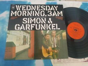 Simon & Garfunkel – Wednesday Morning, 3 A.M. : CBS UK Vinyl LP EXCELLENT COND
