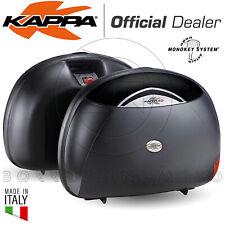COPPIA VALIGIE LATERALI RIGIDE KAPPA K40 (GIVI E41) MONOKEY 40LT UNIVERSALI MOTO