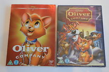 WALT DISNEY OLIVER AND COMPANY LIMITED EDITION O-RING dvd UK RELEASE NEW SEALED