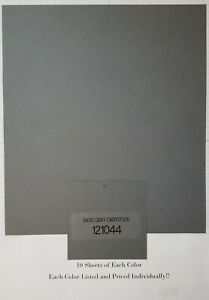 """Stampin Up Cardstock - 10 Sheets of 8.5"""" x 11"""" Cardstock"""