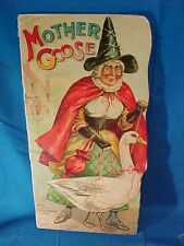 Early 20thc RAPHAEL TUCK Childrens MOTHER GOOSE Diecut BOOK