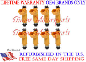 2009 LR3 V8 Set of OEM Fuel Injectors