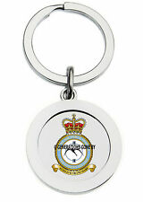 ROYAL AIR FORCE ASCENSION ISLAND KEY RING (METAL)