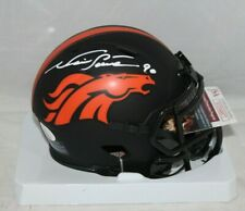 Neil Smith Autographed Signed Denver Broncos Eclipse Mini Helmet JSA 2