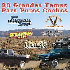 20 Grandes Temas Para Puros Cochos (CD)Tlapehuala,Aguililla,Novillos,Corazones