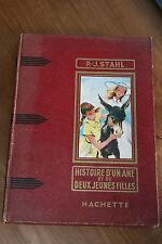 histoire d'un ane et de 2 jeunes filles STAHL P-J 1954