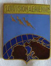 IN601 1° Division Aérienne, émail, 3 avions de profil
