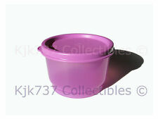 1 New Limited Release Tupperware Purple/Pink Snack Cup Container W/Seal - 4 oz