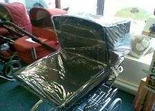 New Raincover / Dust Cover to fit Silver Cross Balmoral coachbuilt pram