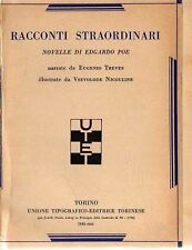 EDGARD A. POE- RACCONTI STRAORDINARI-UTET-SCALA D'ORO