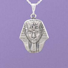 "925 argento egiziano ""KING Tutankhamen"" 18 "" / 20"" CIONDOLO A455"