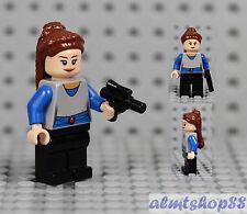 LEGO Star Wars - Padme Naberrie Minifigure w/ Pistol Queen Amidala 7961 Podracer