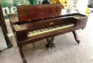 Fortepiano Boisselot 1840 / Pianoforte a tavolo / Square piano / Tafelklavier