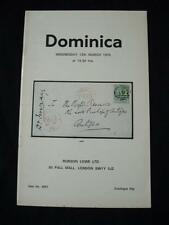 Robson Lowe Auction Catalogue 1975 Dominica