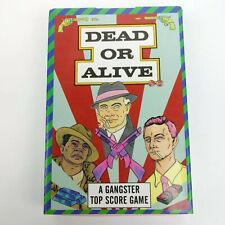 Dead or Alive Gangster Top Score Card Game