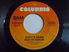 Gary's Gang Keep On Dancin' / Do It At The Disco 45 1978 Columbia Vinyl Record