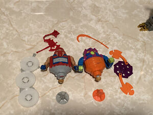 He-Man Masters of the Universe Vintage Twistoid And Rotar COMPLETE