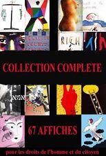 COLLECTION COMPLETE - 67 affiches du Bicentenaire de la Révolution Française -