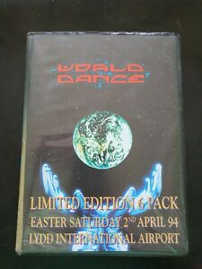 World Dance 6 rave tape pack Lydd airport 2/4/94 Jungle Happy Hardcore Dougal
