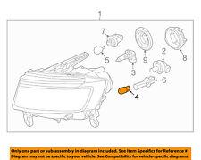CHRYSLER OEM-Side Marker Light Bulb L002825W5W