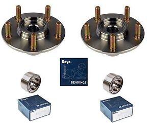 2004-2006 LEXUS RX330 Front Wheel Hub & (OEM) KOYO Bearing Kit (PAIR)