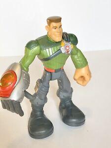 MAJOR POWERS - 2002 Star Squad 6 inch Hasbro Playskool Action Figure -