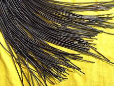 Lederband, ø 2 mm, Länge 1 m, schwarz   echtes Rindsleder   Lederschnur   Leder