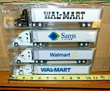 choice of new 1/87 Walmart Trucks sams club Freightliner volvo kenworth HO train
