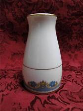 """Noritake Blue Flowers, Gold Leaves & Trim: Pepper Shaker (s), 3 Holes 3.25"""" Tall"""
