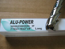"7/16""x2"" LOCx 4"" OAL,ALU-POWER 3 Flute Carbide End Mill, YG-1 brand ""NEW"""