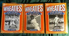 Wheaties 1993 60 Years of Sports Heritage set Ruth, Mays, Gehrig, INTACT