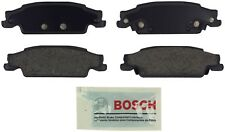 For Cadillac CTS STS Pontiac Grand Prix Rear Blue Disc Brake Pads Bosch BE922