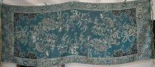 Foulard étole châle style PASHMINA  177 cm x 70 cm motif cachemire et fleurs