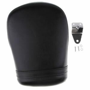 Black Rear Passenger Cushion Seat For Suzuki Boulevard Intruder Volusia 800