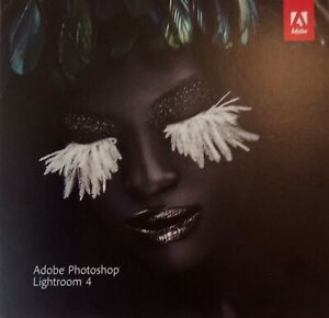 Adobe photoshop Lightroom 4 Editing Software for PC & MAC + Book.